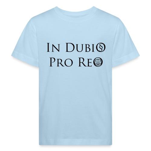 In Dubio pro Reo - Kinder Bio-T-Shirt