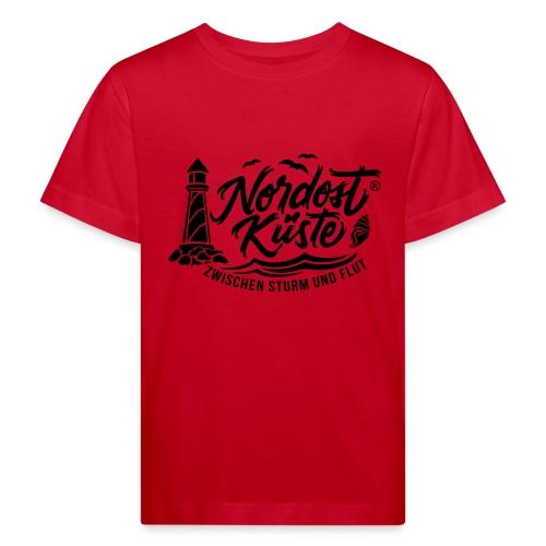 Nordost Küste Logo #6 - Kinder Bio-T-Shirt