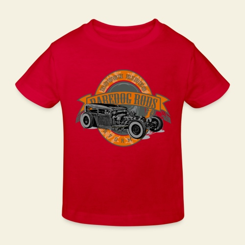 Raredog Rods Logo - Organic børne shirt