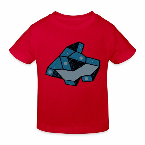 dot rock - Kinderen Bio-T-shirt