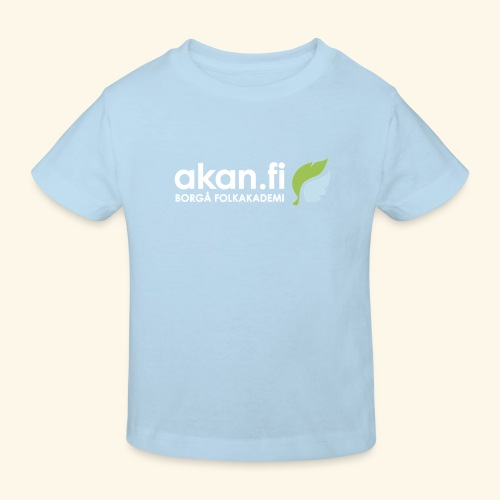 Akan White - Lasten luonnonmukainen t-paita