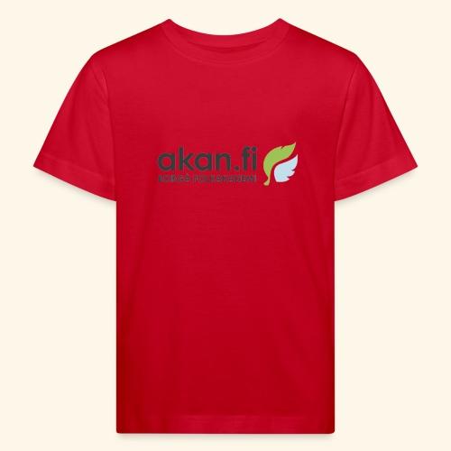 Akan Black - Ekologisk T-shirt barn