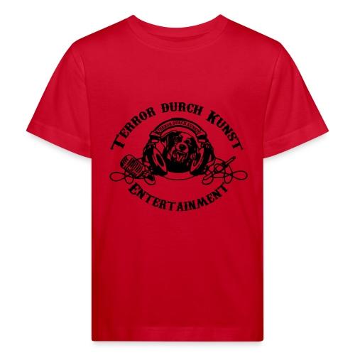 tdklogoschwarz 3 - Kinder Bio-T-Shirt