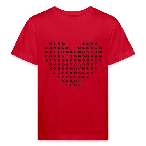 Copenhagen Heart - Organic børne shirt