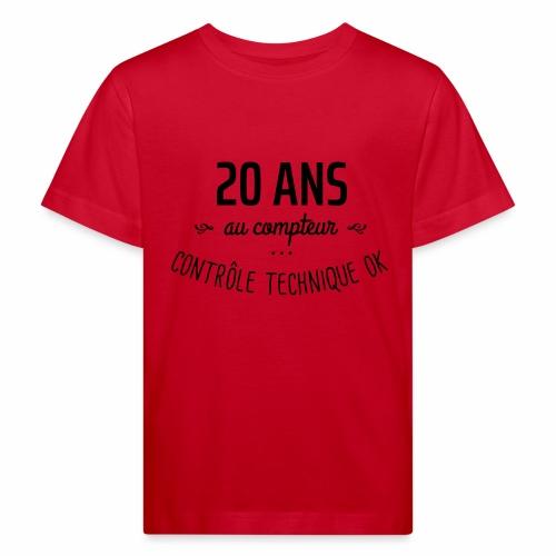 20 ans au compteur - T-shirt bio Enfant