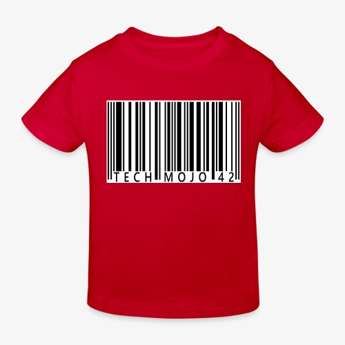 TM graphic Barcode Answer to the universe - Kids' Organic T-Shirt