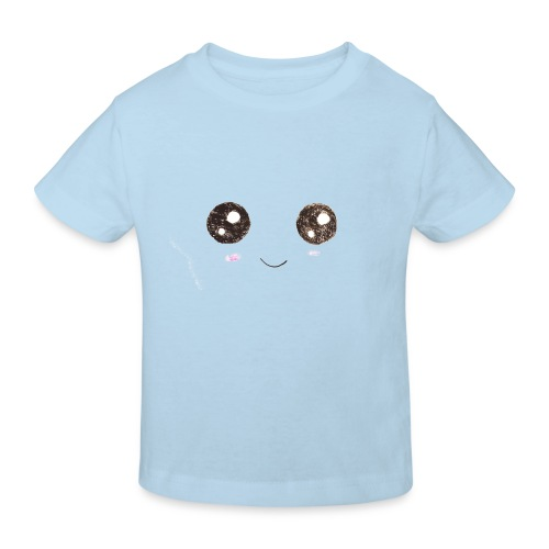 Kids for Kids: Smiling Face - Kinder Bio-T-Shirt