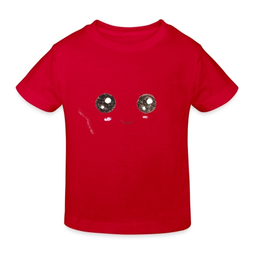 Kids for Kids: Smiling Face - Kinder Bio-T-Shirt