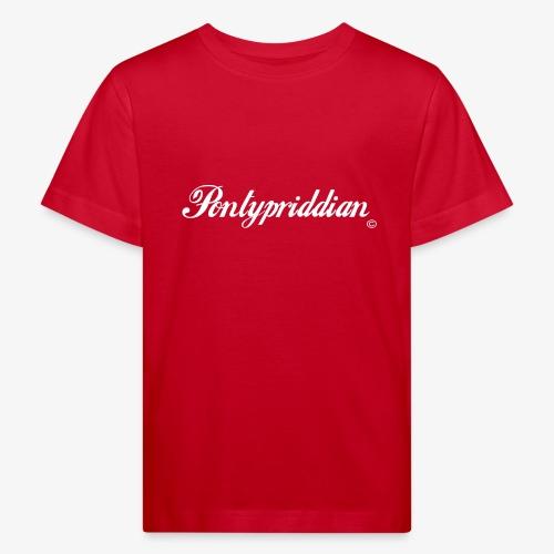 Pontypriddian - Kids' Organic T-Shirt
