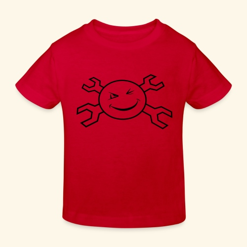 logo_atp_black - Kids' Organic T-Shirt