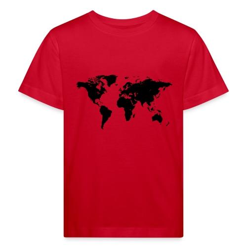 World Map - Kinder Bio-T-Shirt