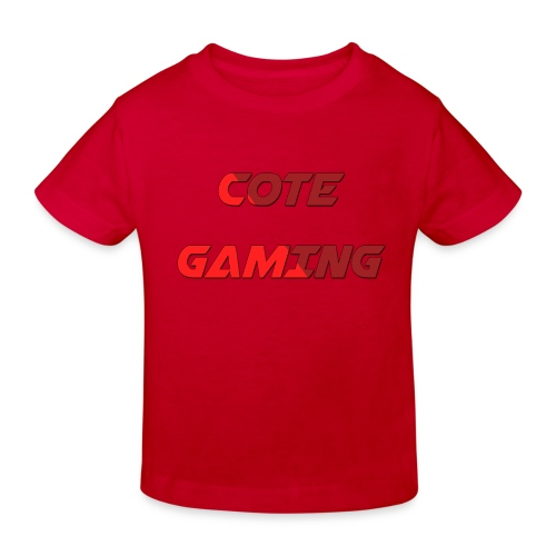 Cote Sweater Rode Letters - Kids' Organic T-Shirt