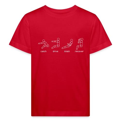 catch drive finish recover - Kids' Organic T-Shirt