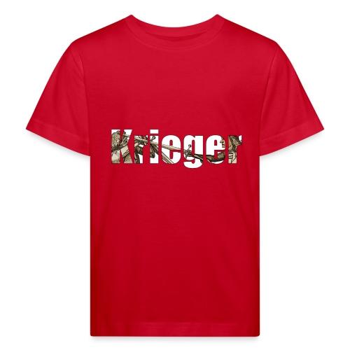 krieger - Kinder Bio-T-Shirt