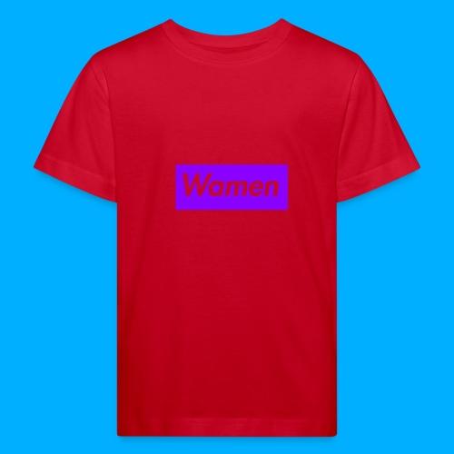 Wamen T-Shirt Design - Kids' Organic T-Shirt