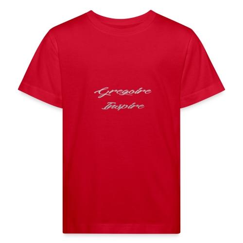 Inspire - Gray - Organic børne shirt