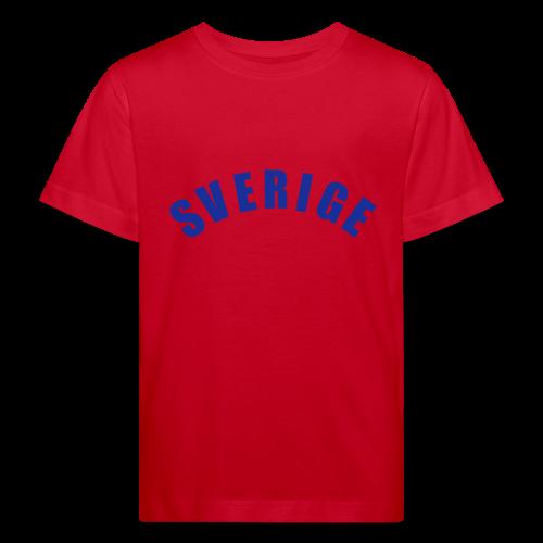 T-shirt, Sverige - Ekologisk T-shirt barn