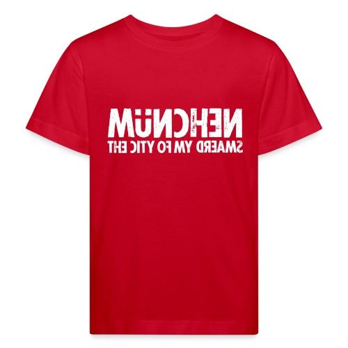 München (white oldstyle) - Kinder Bio-T-Shirt