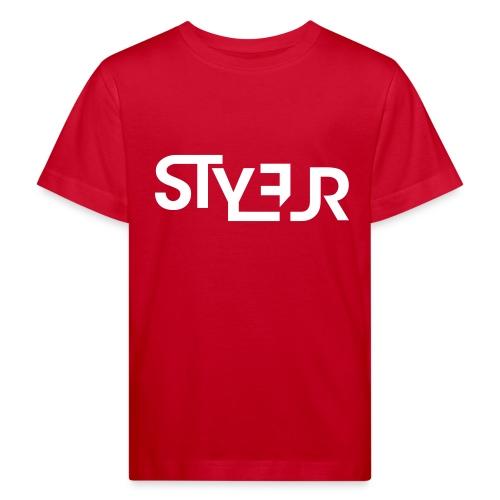 styleur logo spreadhsirt - Kinder Bio-T-Shirt