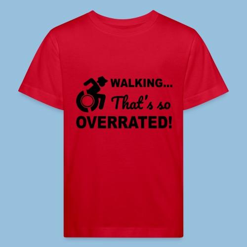 Walkingoverrated2 - Kinderen Bio-T-shirt