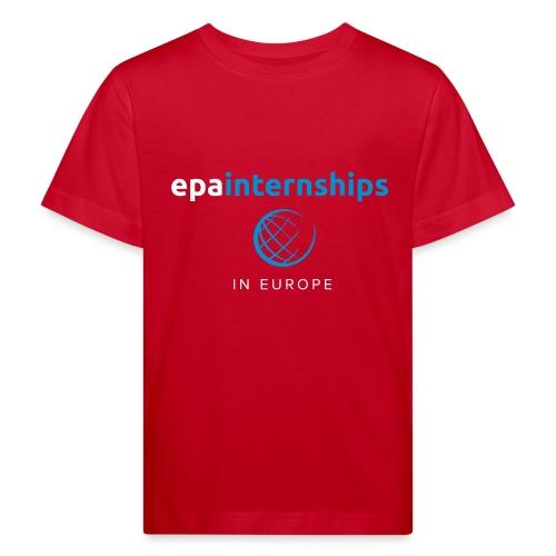 EPA Logo White - Kids' Organic T-Shirt