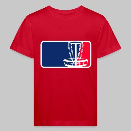 Disc golf - Lasten luonnonmukainen t-paita