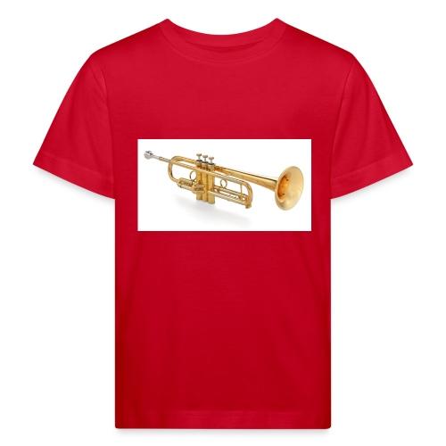 the trumpet - Kinder Bio-T-Shirt