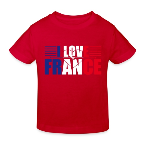 love france - T-shirt bio Enfant