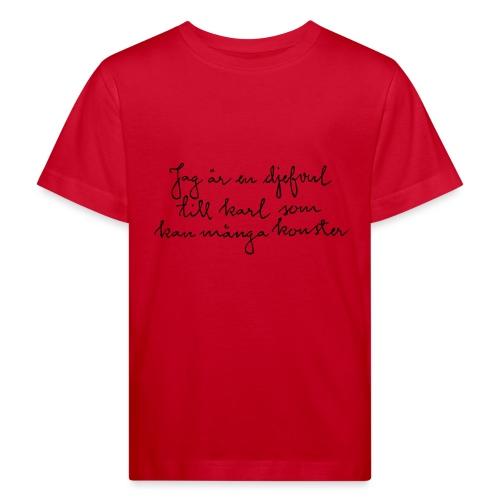 STRINDBERG - Ekologisk T-shirt barn