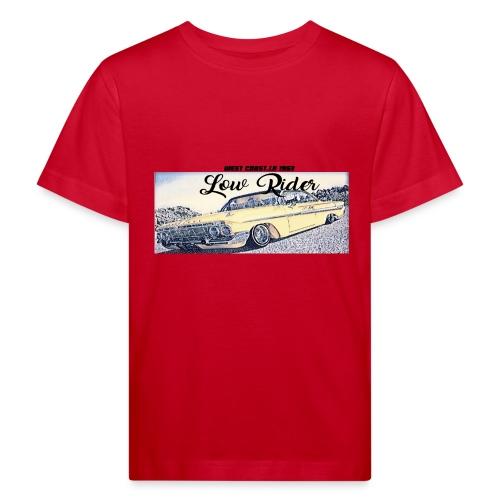 Lowrider impala 1963 vato loco west coast tshirt - Kids' Organic T-Shirt