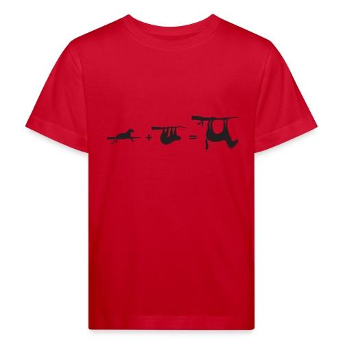 Lui paard Formule Luipaar - Kinderen Bio-T-shirt