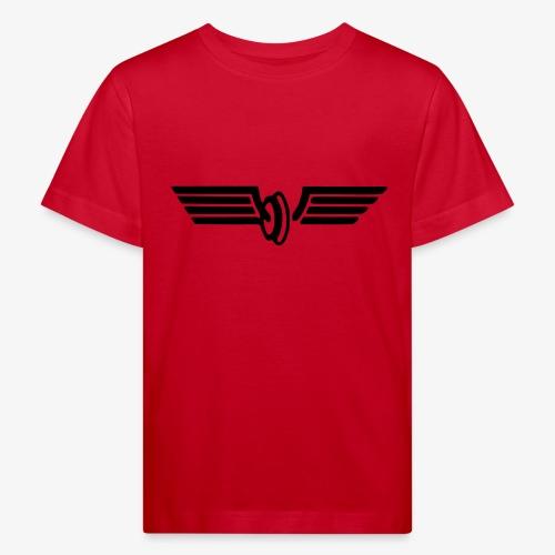 Flügelrad Wintermütze - Kinder Bio-T-Shirt