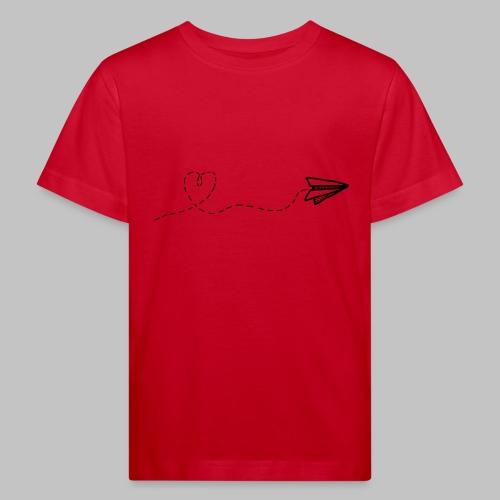fly heart - Kids' Organic T-Shirt