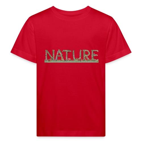 Natur - Kinder Bio-T-Shirt