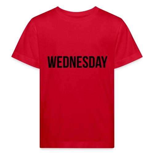 Wednesday - Kids' Organic T-Shirt