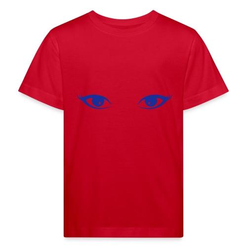 augen - Kinder Bio-T-Shirt