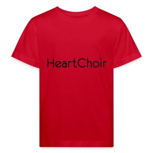 schriftzug heartchoir - Kinder Bio-T-Shirt