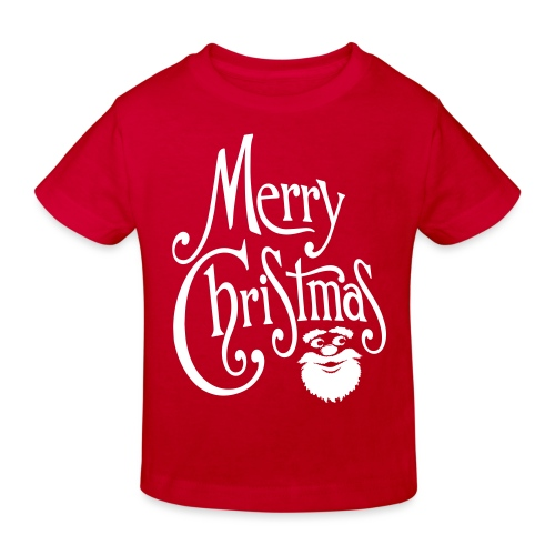 Merry Christmas - Kids' Organic T-Shirt