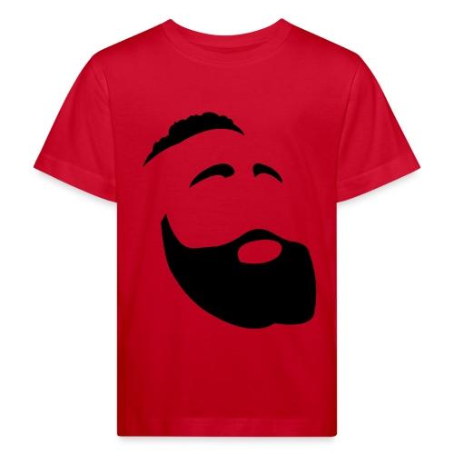 Il Barba, the Beard black - Maglietta ecologica per bambini