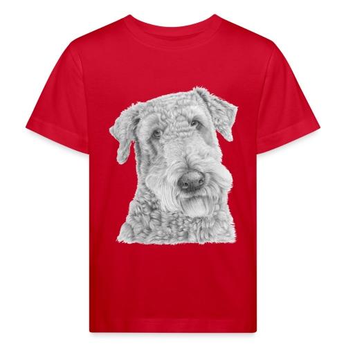 airedale terrier - Organic børne shirt