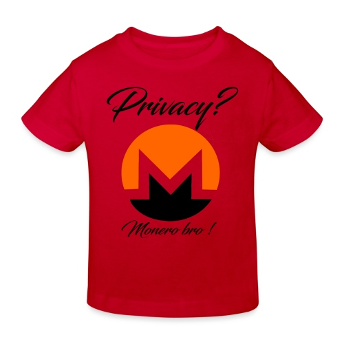 Moneroooo - T-shirt bio Enfant