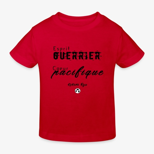 ESPRIT GUERRIER COEUR PACIFIQUE - T-shirt bio Enfant