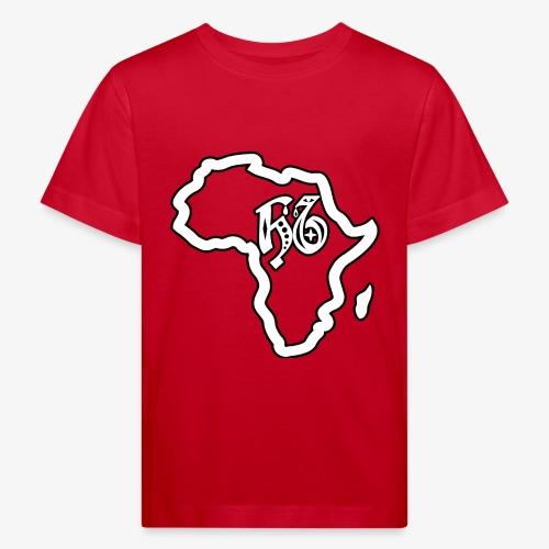 afrika pictogram - Kinderen Bio-T-shirt