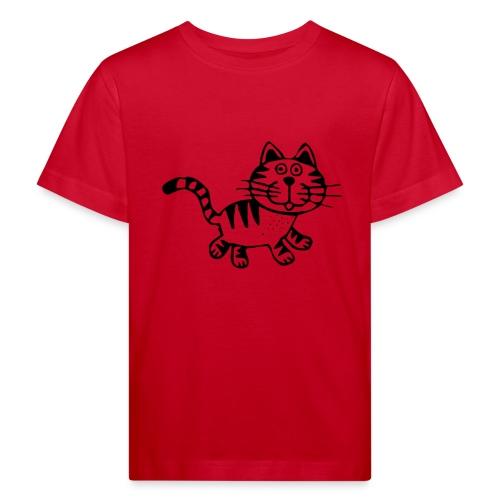 Friendly Cat - Kinder Bio-T-Shirt