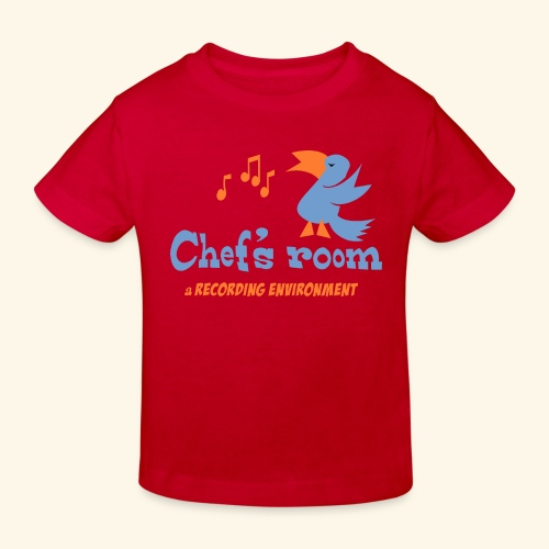 chefs room - Lasten luonnonmukainen t-paita