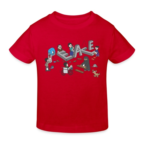 Peace - Kinder Bio-T-Shirt