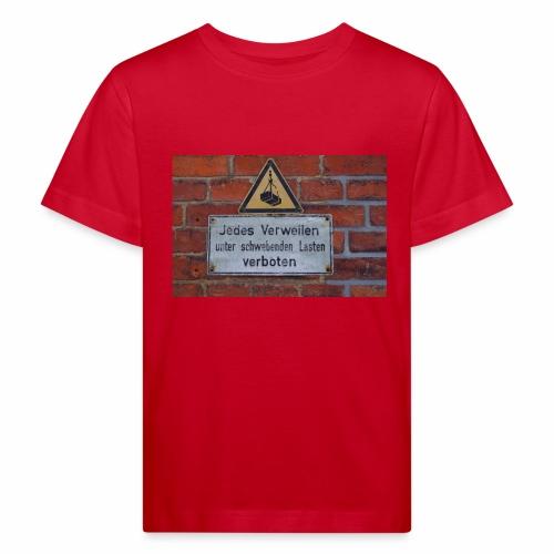 Original Artist design * Jedes Verweilen - Kids' Organic T-Shirt