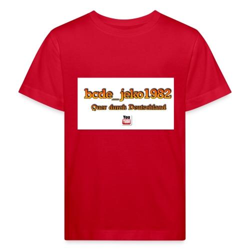 quer durch deutschland - Kinder Bio-T-Shirt