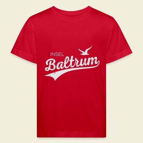 Baltrum-Logo Möwe - Kinder Bio-T-Shirt
