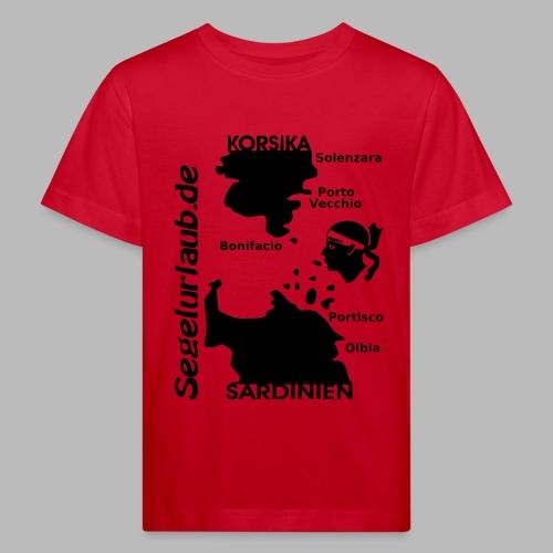 Korsika Sardinien Mori Shirt - Kinder Bio-T-Shirt